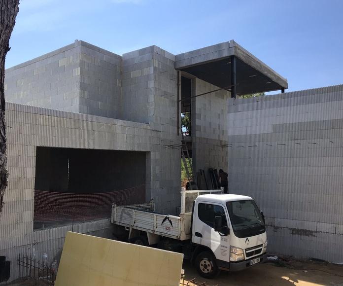 Construcción de chalets de eficiencia energética: Servicios de Construccions Font