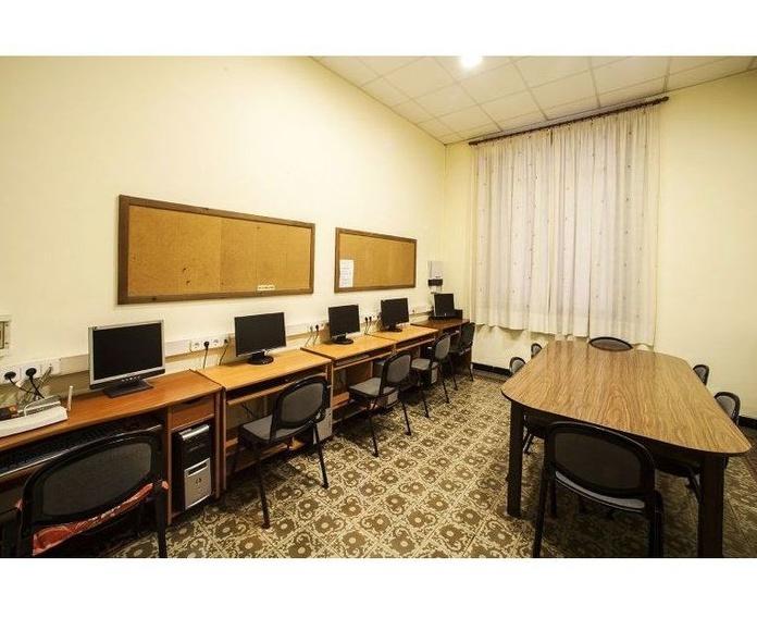 Zonas comunes: Instalaciones de Residencia Universitaria Elisabets