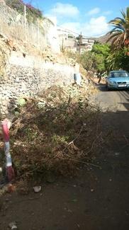 Limpieza de parcelas y arreglos de muros en Santa Cruz de Tenerife