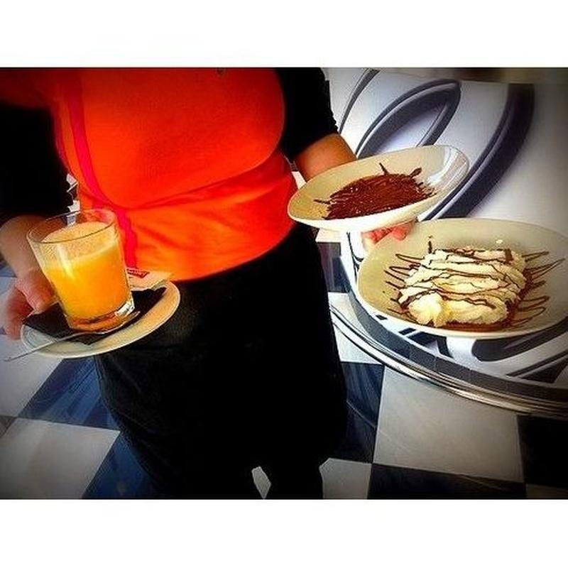 Desayunos y meriendas: ¿Qué como? de Car's Diner Cafetería Americana