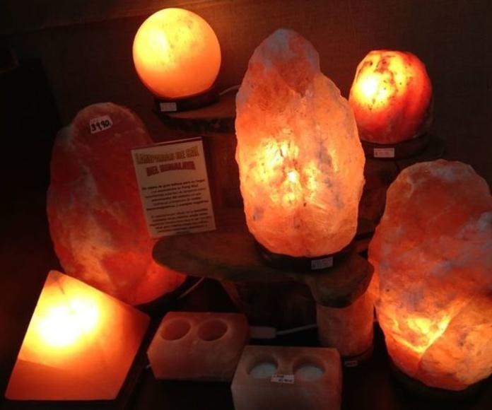 Lámparas de sal : Productos de Alumbra a toda Vela