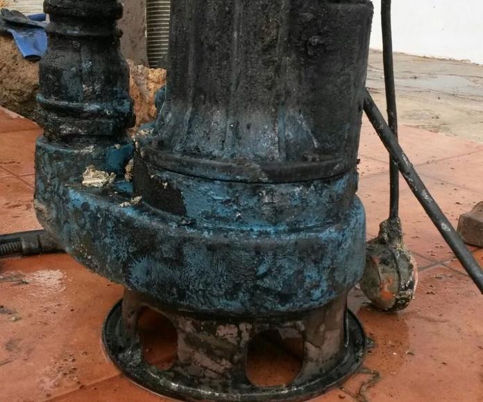 Bombas de achique: Servicios de Limpiezas Miguel 24H