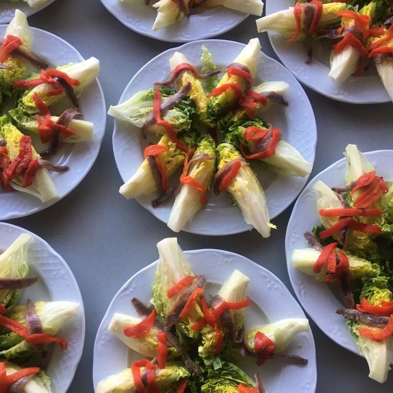 Entrantes: Carta de Restaurante Tomate Algo