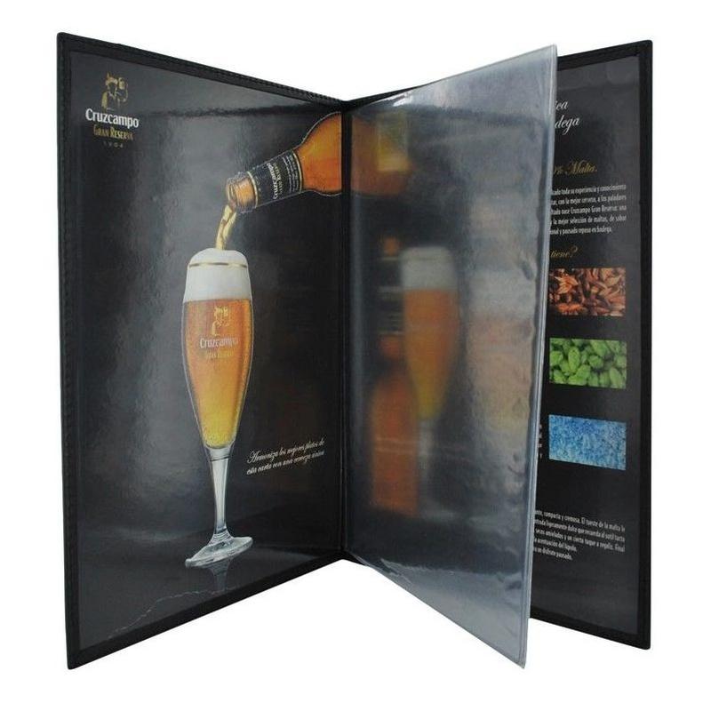 Carta De Restaurante CR-300: Catálogo de M.G. Piel