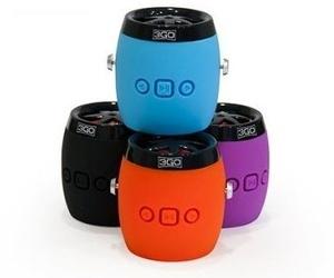 3GO Altavoz 2.1 Bluetooth Dampy 3W Negro