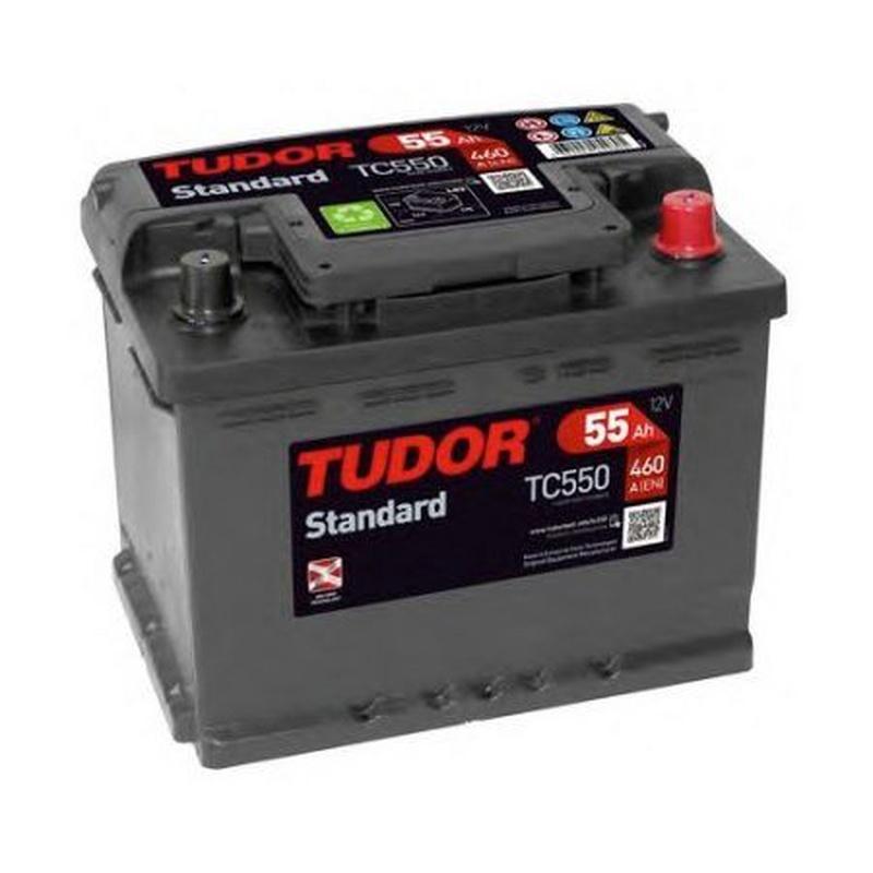 Baterías Tudor: TC550: Recambios para el Automóvil de Lucauto Madrid
