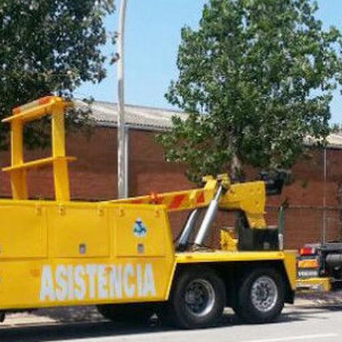 Remolcaje de vehículos de gran tonelaje