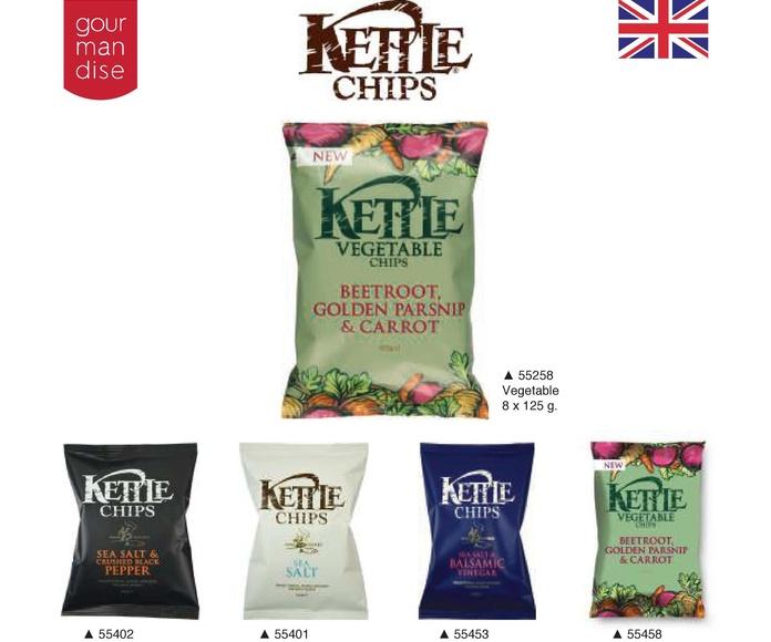Kettle chips: Productos de Casa Bastida