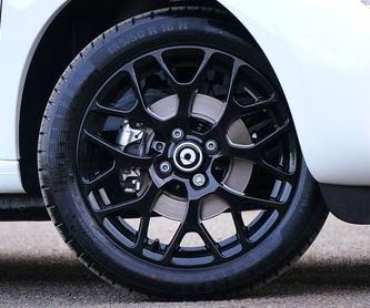 Neumáticos de coche : ¿Qué hacemos? de Garaje Rípodas
