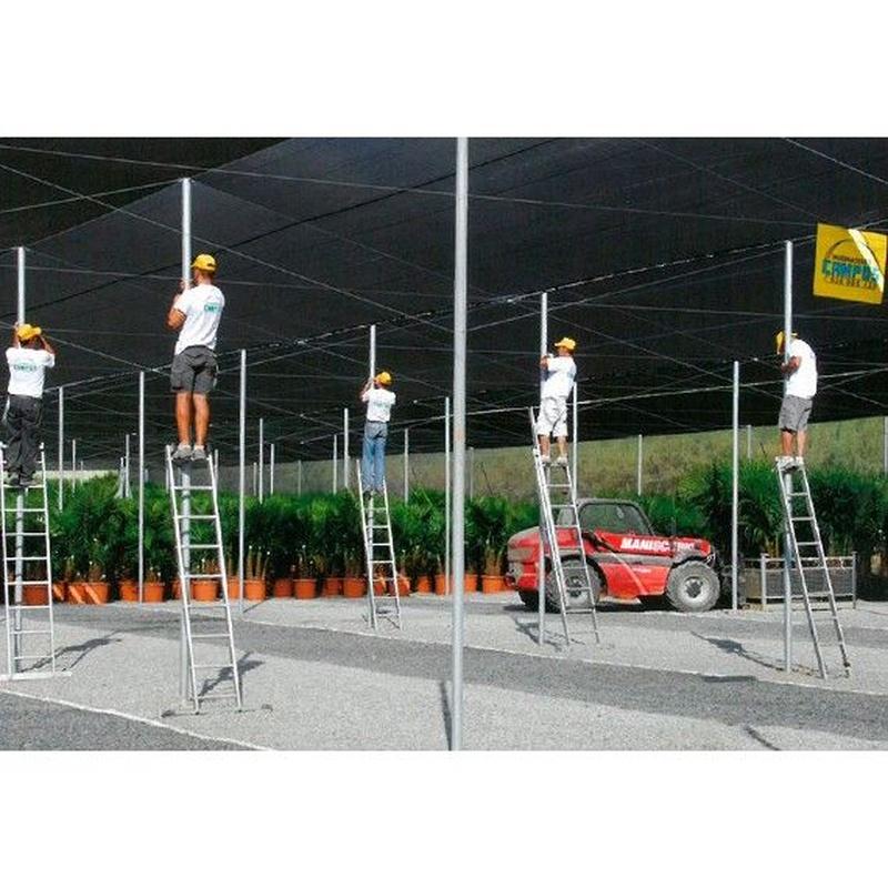 Cerramientos: Invernaderos de Invernaderos Campos