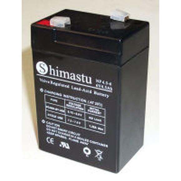 Batería plomo 6V 4,5Ah 70x47,3x101mm