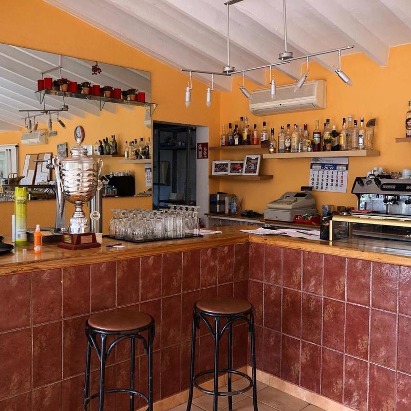 Bar / Cafetería: Servicios de Club de Tenis Buenavista Benissa