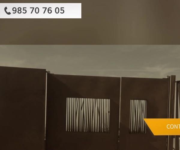 Portones metálicos en Cangas de Onís | Metálicas Torca