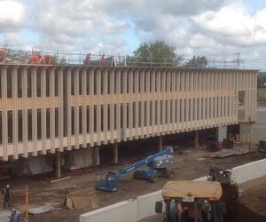 Montaje Cortelima Edificio corporativo de CMPC