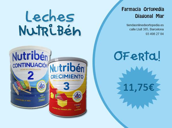 Oferta leches Nutribén