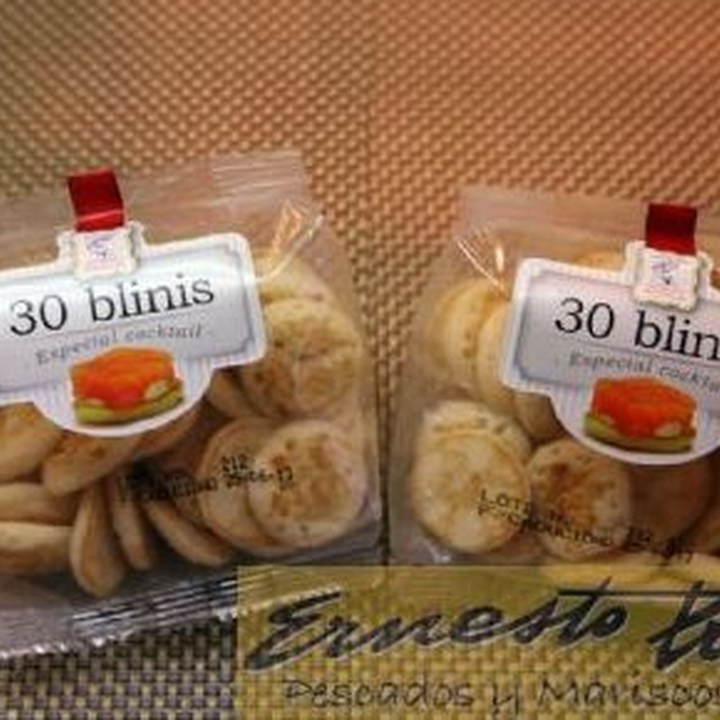Mini Blinis: Productos de Ernesto Prieto