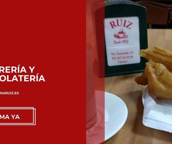 Churrerías en Cáceres | Churrería Ruiz