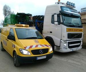 Servicio de acompañamiento a transportes especiales