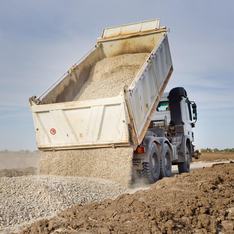 Transporte de áridos: Servicios de Transportes y Excavaciones Orotrans, S.L.