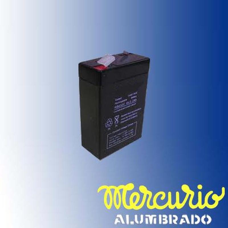 Baterías recargables: Productos de Mercurio Alumbrado