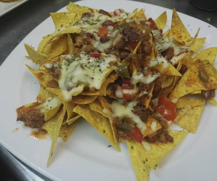Entrantes: Carta de Azteca Restaurante Mexicano