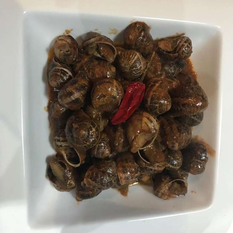 Caracoles dulces y picantes: Productos de Restaurant Cal Marc