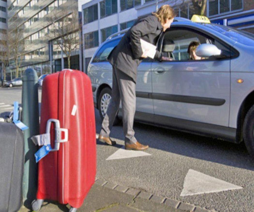El equipaje en los taxis