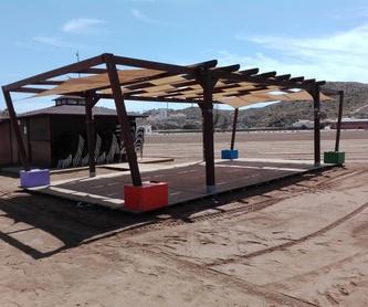 Pérgola y porches: Servicios de Maderania