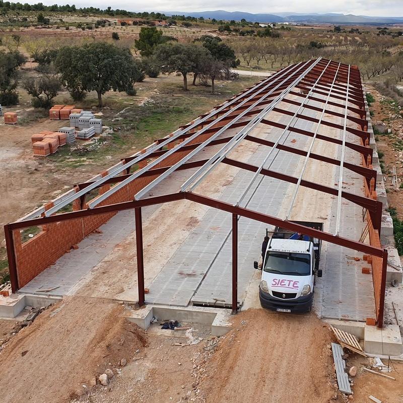 Ref. Casas de Utiel (Valencia): Servicios de Servicios Inoxidables Albacete