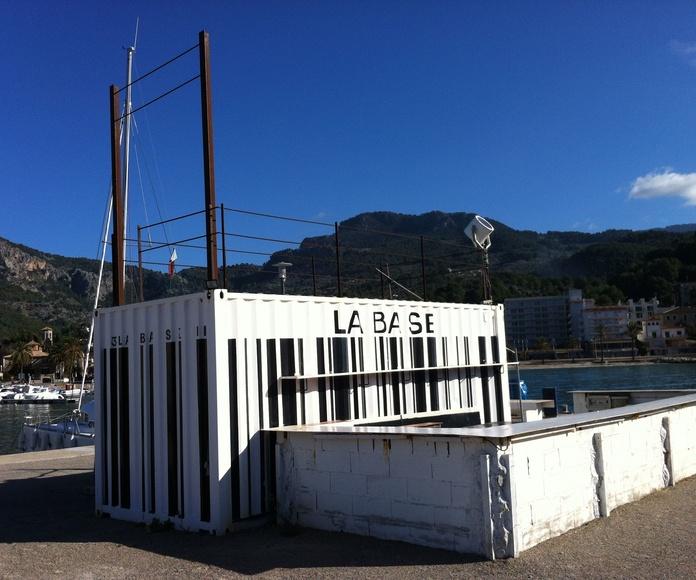 Módulos utilizados en el puerto : Andamios  de Rent Andamios y Casetas.
