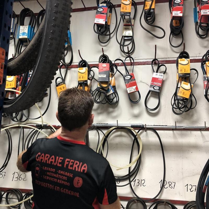 Recambios y repuestos en general: Servicios de Garaje Feria