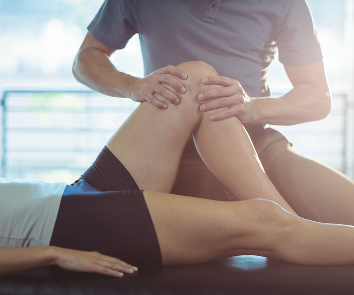 Treatment of sports injuries: physiotherapy treatments de Centre of physacal therapy Fisiomar