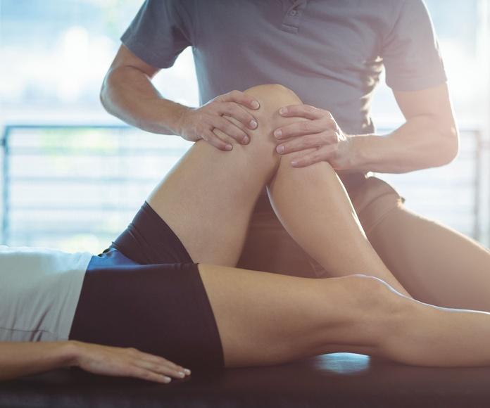 Tratamiento de lesiones deportivas: Tratamientos de fisioterapia de Centro de Fisioterapia FisioMar