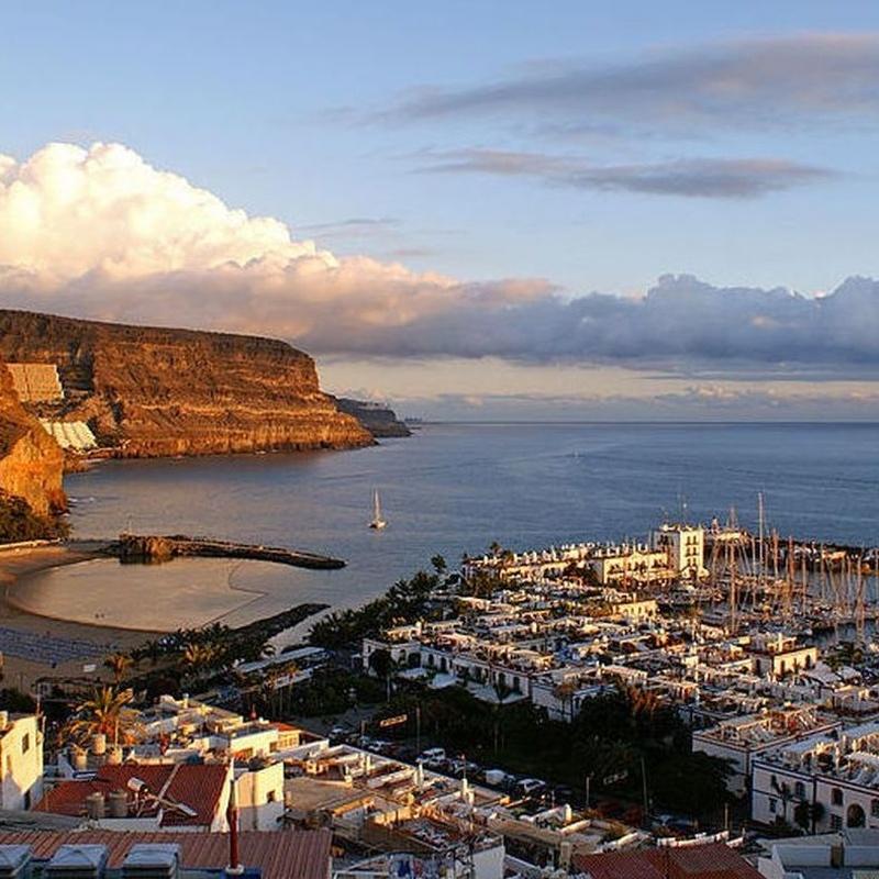 Destino ~ Destination: Puerto de Mogán / Port of Mogán: Precios - Servicios y Reservas de Reservas Taxis Las Palmas de Gran Canaria, Puertos y Aeropuerto. Bookings of Transfers by Gran Canaria