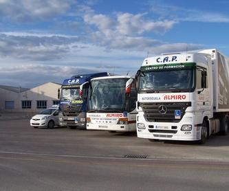 Certificado de profesionalidad para conductor de camión pesado: Servicios de Autoescuela Almiro