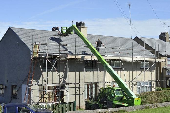 Reformas de tejados: Trabajos  de Baljoviedo
