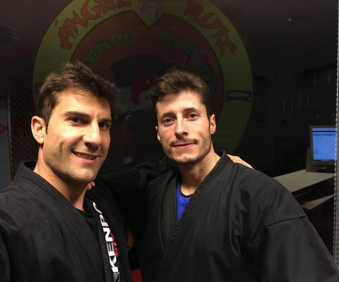 Ángel Ruiz y Carlos López