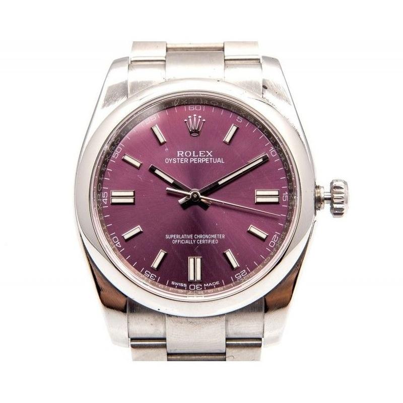 Reloj Oyster Pderpetual acero para caballero