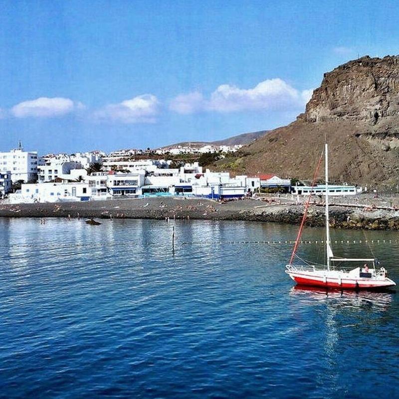 Destino ~ Destination: Puerto de Las Nieves / Port of Las Nieves / Agaete: Precios - Servicios y Reservas de Reservas Taxis Las Palmas de Gran Canaria, Puertos y Aeropuerto. Bookings of Transfers by Gran Canaria