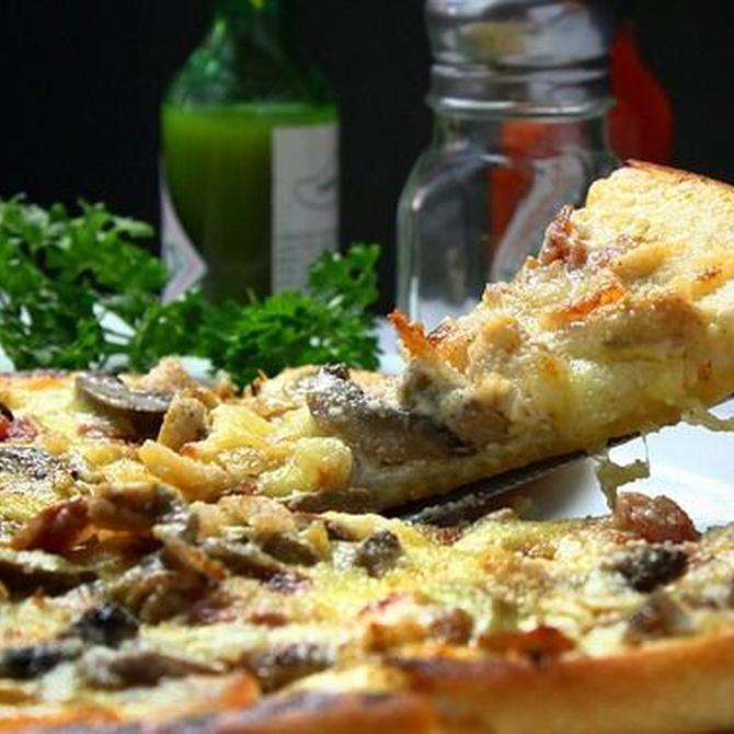 Descubre todos los nutrientes de la pizza