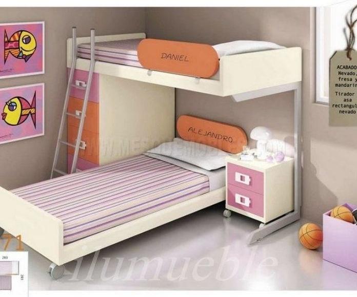 Habitaciones juveniles e infantiles.