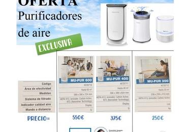 Ofertas de purificadores de aire