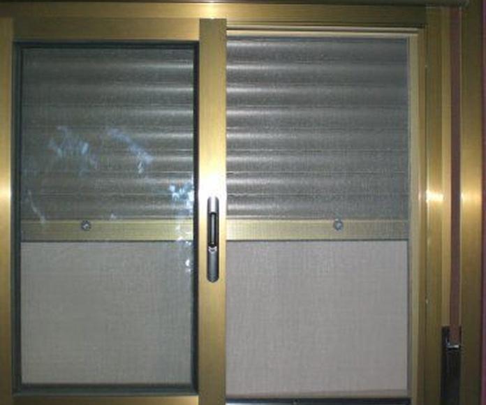 Mosquiteras: Carpintería de aluminio de Laborda Tecnología del Aluminio, S.L.