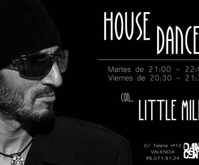 CLASES DE HOUSE DANCE CON LITTLE MILK EN DANCE CENTER VALENCIA