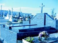 Lápidas de mármol en Asturias