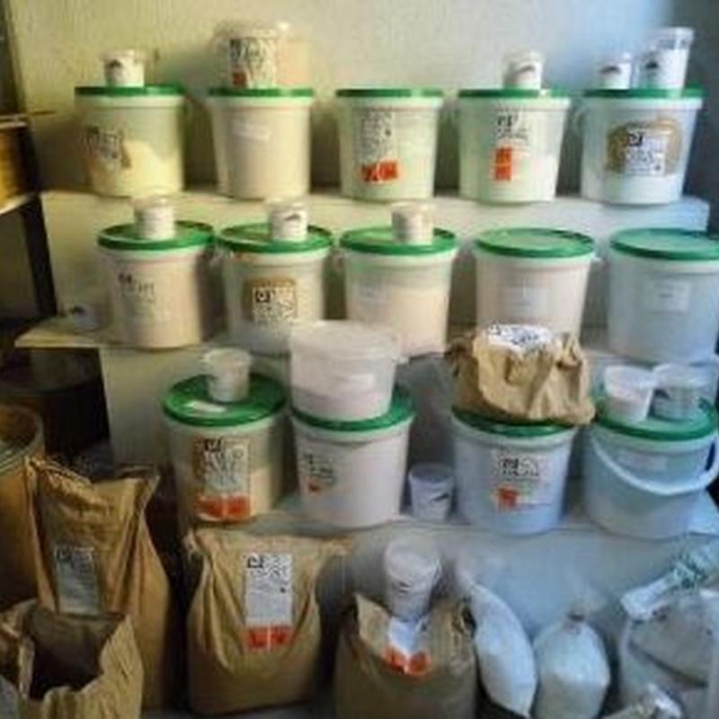 Esmaltes : Servicios  de Alfarería Garmendia
