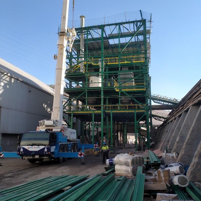 ESTRUCTURA FACHADA Y CUBIERTAS EN PRFV  DE VARIOS EDIFICIOS MINAS SAL SURIA: Trabajos realizados de Global Metall, S.C.P.