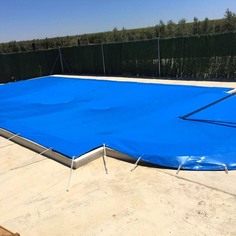 Lonas para piscinas: Qué hacemos de Restauraciones Ríos