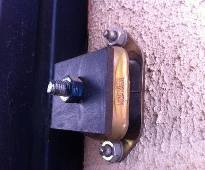 Insonorización de puerta de garaje