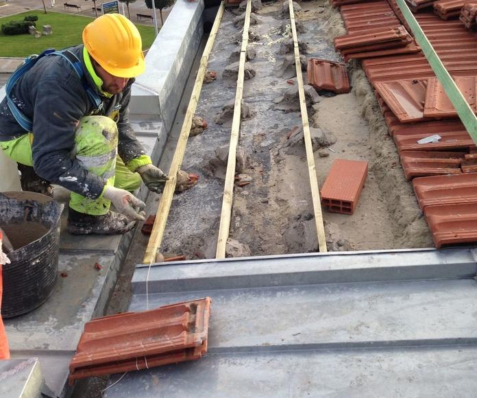 Reparación de tejados y cubiertas Santander-Torrelavega